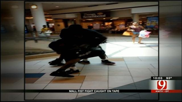 Brawl Caught On Camera At Quail Springs Mall, Raises Concerns