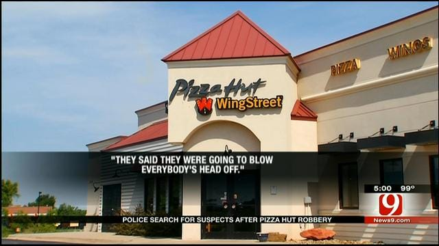 Armed Suspects Rob Guthrie Restaurant, Lock Employees In Freezer