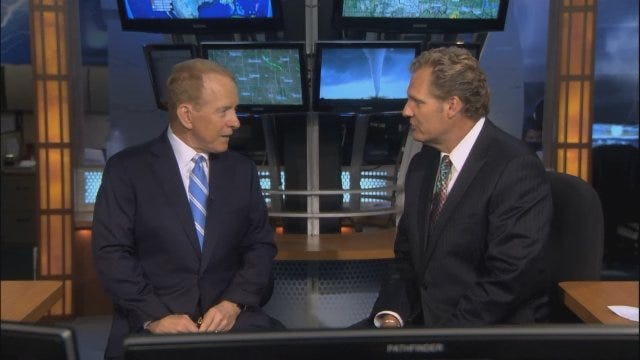 WEB EXTRA: Gary England Talks About His New Role At News 9