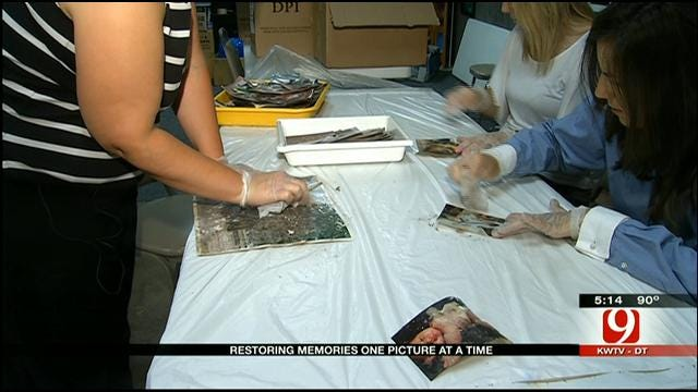 OK Group Restores Family Photos Found Following Tornadoes