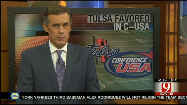 Tulsa To Be A Hot Topic At C-USA Media Day
