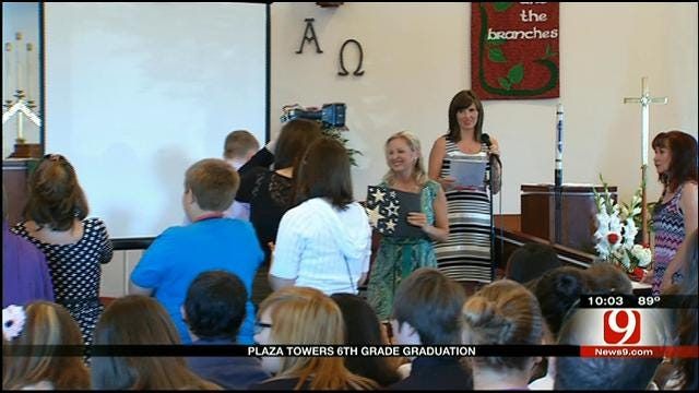 Graduation Ceremony Held For Plaza Towers Students