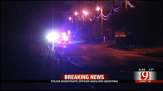 Police Seek Suspect Who Shot At Officer In NW OKC