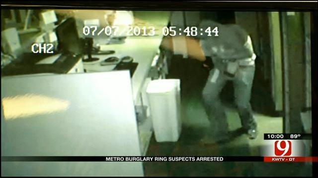 Police: Surveillance Video Leads To Burglary, Drug Ring