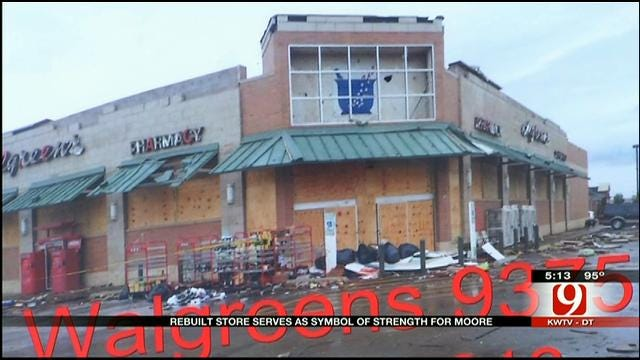 Badly Damaged In May 20 Tornado, Moore Walgreens Re-Opens For Business