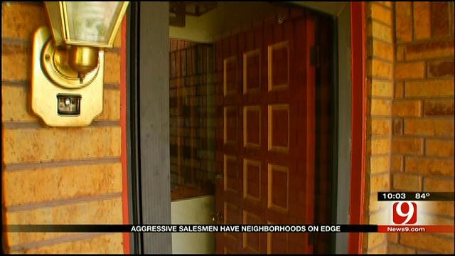 Pushy Door-To-Door Salesmen Alarm Metro Residents