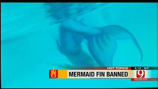 Hot Topics: Mermaid Fin Banned