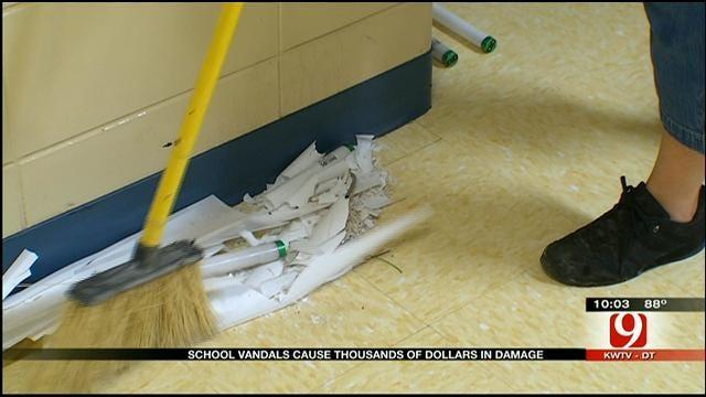 OKC School District Looks To Public To Help Stop Spate Of Burglaries