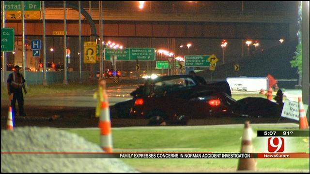 Family Wants Suspected Drunken Driver Arrested After Norman Crash
