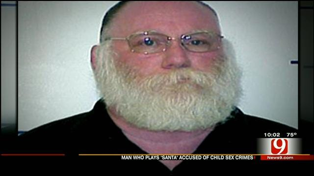 OSBI Arrests Warr Acres Man Who Plays Santa For Lewd Proposal