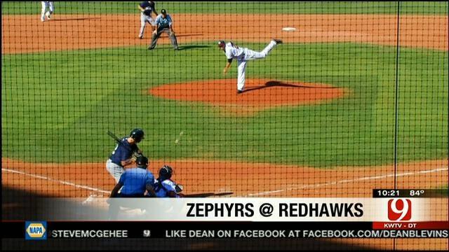 Redhawks Split Doubleheader