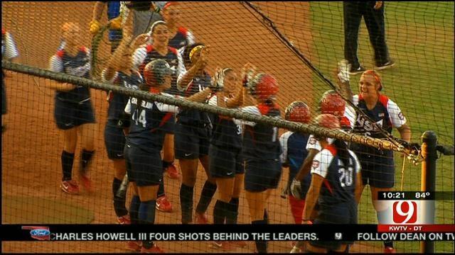 Team USA Softball Defeats Australia In World Cup