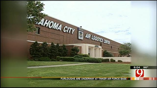 Furlough Puts Financial Strain On Tinker AFB Employees