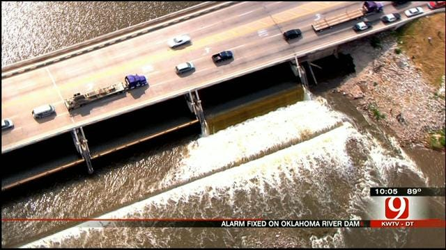 Alarm Failure Caused Family To Become Stranded In Okla. River