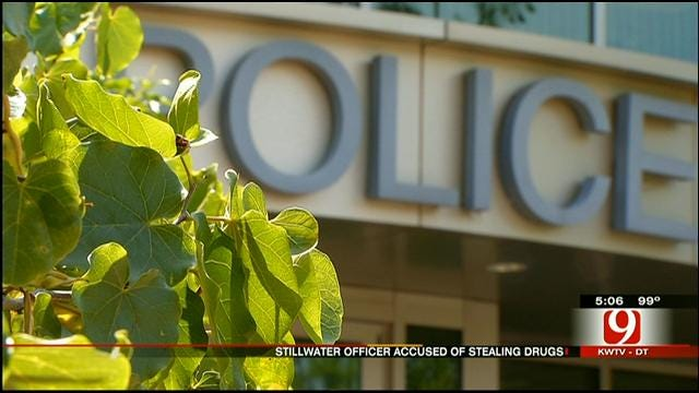 Former Stillwater Police Officer Accused Of Stealing Drugs Department