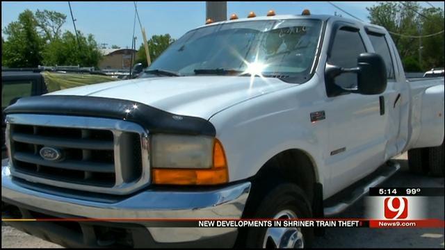 Stolen Truck Used To Pull Shriner Train Found, Train Still Missing