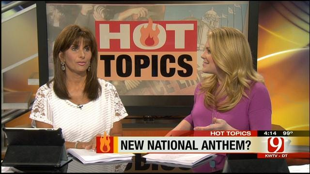 Hot Topics: 'Party In The USA' National Anthem?