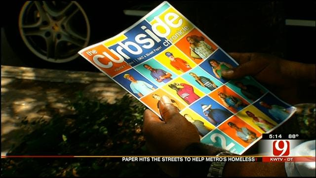 New Street Paper In OKC Helps Homeless