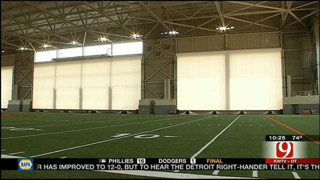 Cowboys Enjoying New Indoor Facility