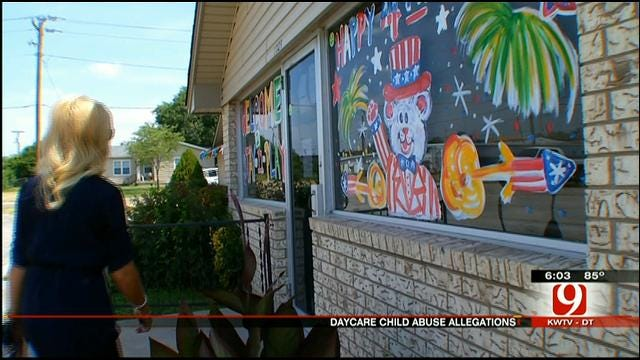 Shawnee Mother Accuses Daycare of Abusing Daughter