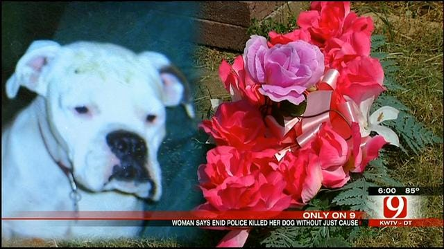 Enid Woman Wants Justice After Police Shoot, Kill Family Dog