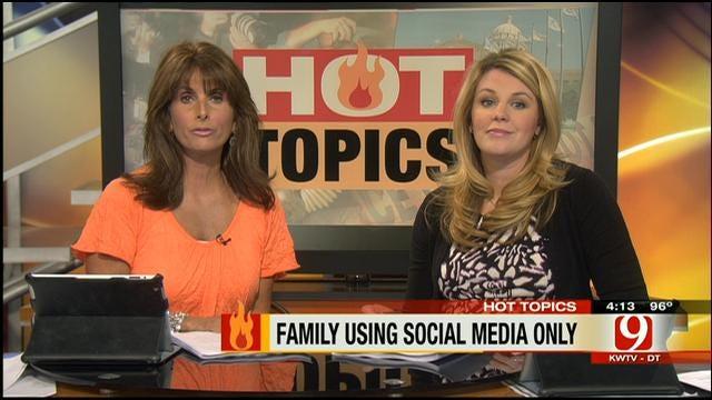 Hot Topics: Parents Using Social Media To Talk To Kids