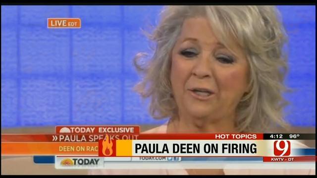 Hot Topics: Paula Deen Apologizes To Salvage Career