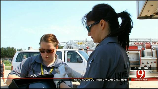 OKC Police Hire Civilians To Help Solve Real Crimes