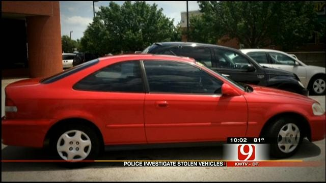 Police Investigate String Of Vehicle Thefts At OKC Apartment Complex