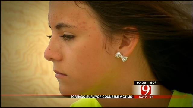Joplin Tornado Survivor, 14, Comes To OK To Counsel Storm Victims