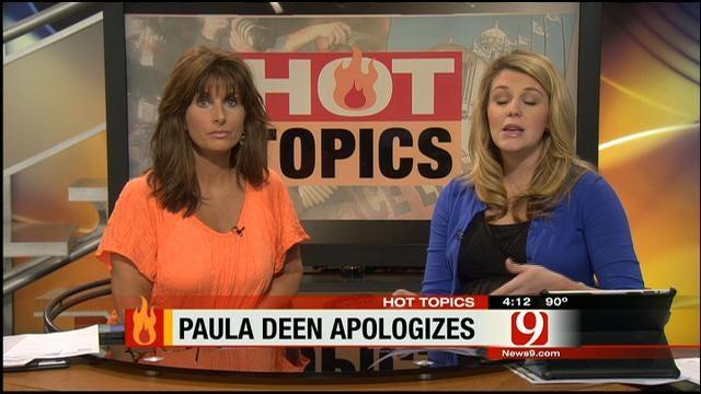 HOT TOPICS: Food Network Drops Paula Deen After Racial Slur Controversy