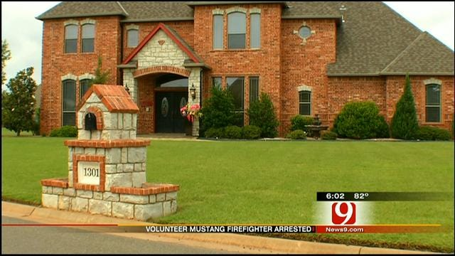 Volunteer Firefighter In Mustang Arrested For Domestic Abuse