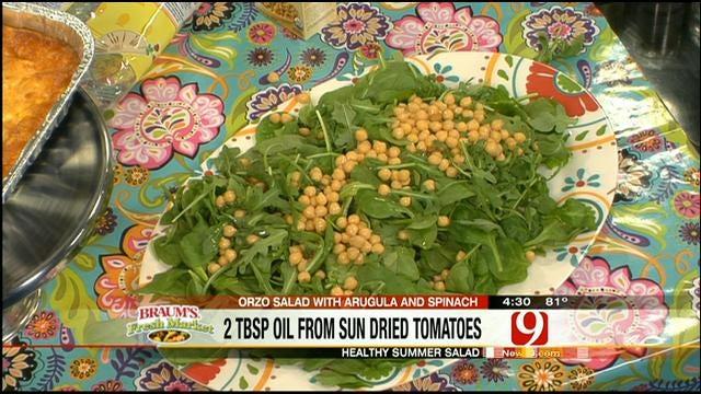 Orzo Salad w/Arugula and Spinach