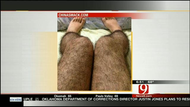 Woman Invents Hairy Stockings To Deter Attackers