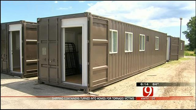Wisconsin Company Creating Temporary Homes For OK Storm Victims