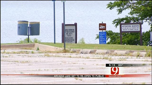 Lake Arcadia To Reopen Following High Water From May Storms