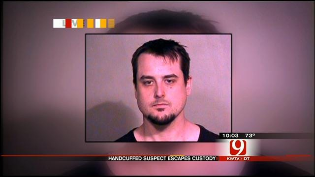 Man In Handcuffs Escapes From OKC Squad Car