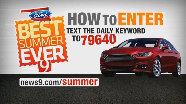 Best Summer Ever: How To Win A New Ford Fusion