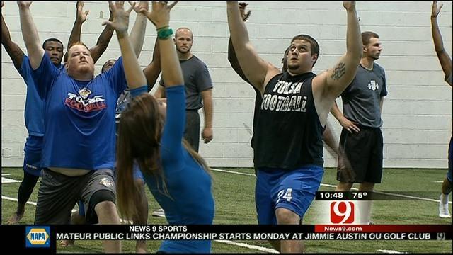 Tulsa Football Turns To Yoga