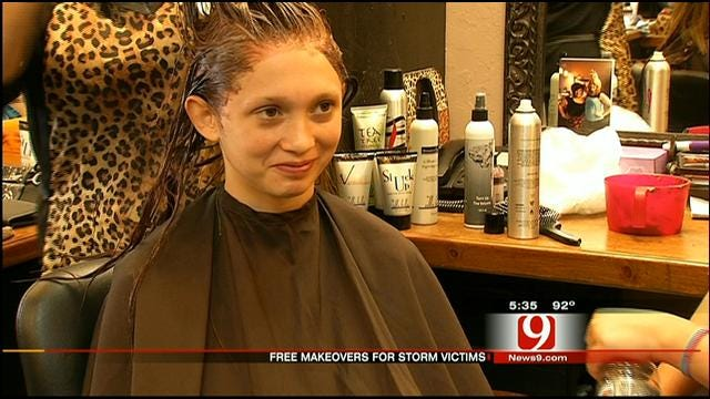 Army Of Stylists Offer Free Day Of Beauty To Moore Tornado Victims
