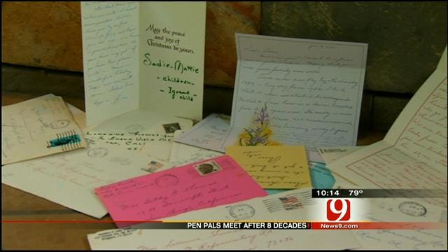 Pen Pals Meet After 80 Years Of Correspondence