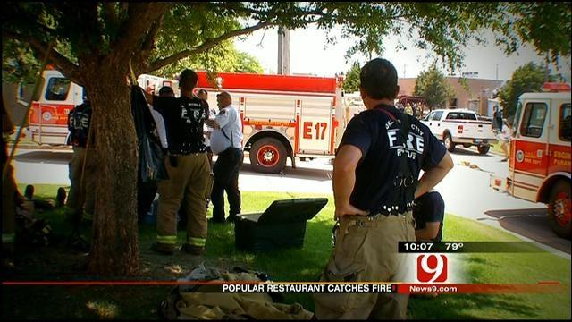 OCFD Investigates Shack Restaurant Fire Cause, Spark Location