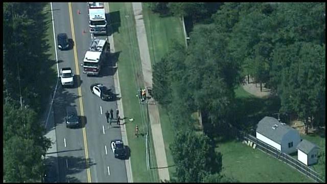 WEB EXTRA: SkyNews 9 Flies Over Edmond Police Chase Crash
