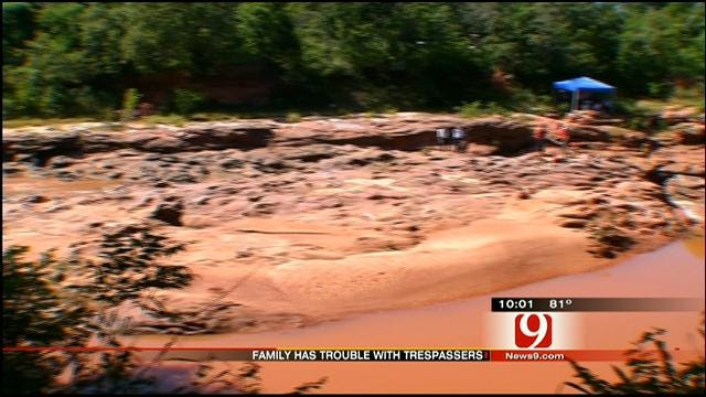 Residents Near Deep Fork River Advise Swimmers Stay Away