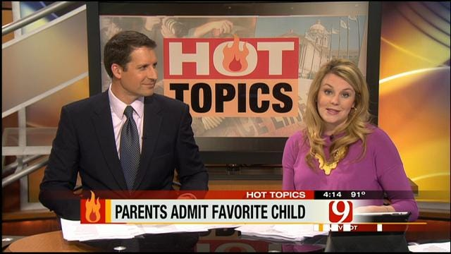 Hot Topics: Parents Admit Favorite Child