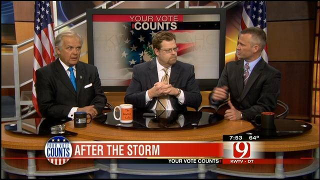 Your Vote Counts: Lawsuit Reform Law, DNA Ruling, IRS Scandal, After The Storm