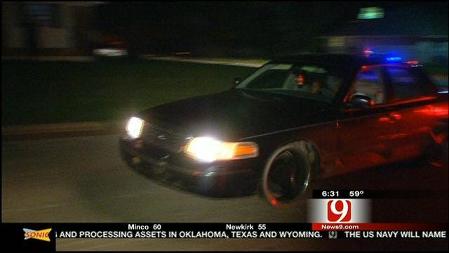 Suspects Lead Police On Slow-Speed Chase In NW OKC