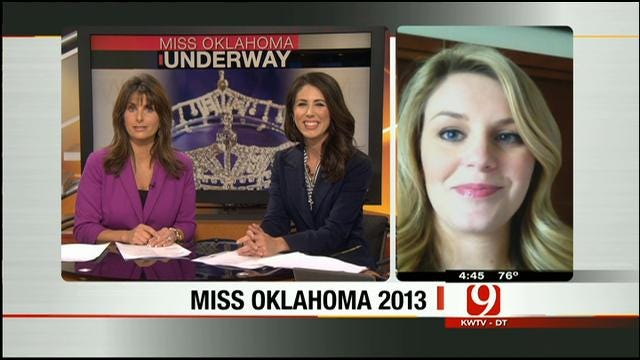 News 9's Lauren Nelson Reports From Miss Oklahoma Competition