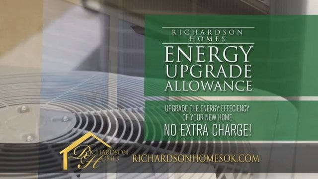 Richardson Homes: Energy Upgrade Allowance