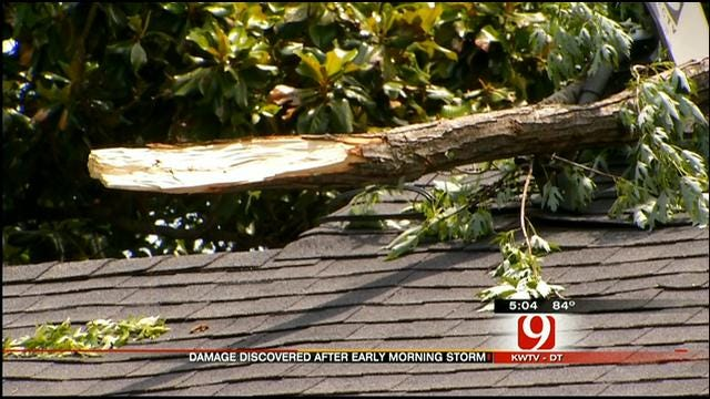 Strong Winds Damage Businesses, Homes In Washington